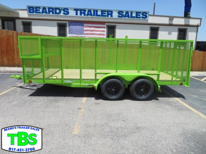 2021 Load Trail 83x18 Landscape Utility Trailer