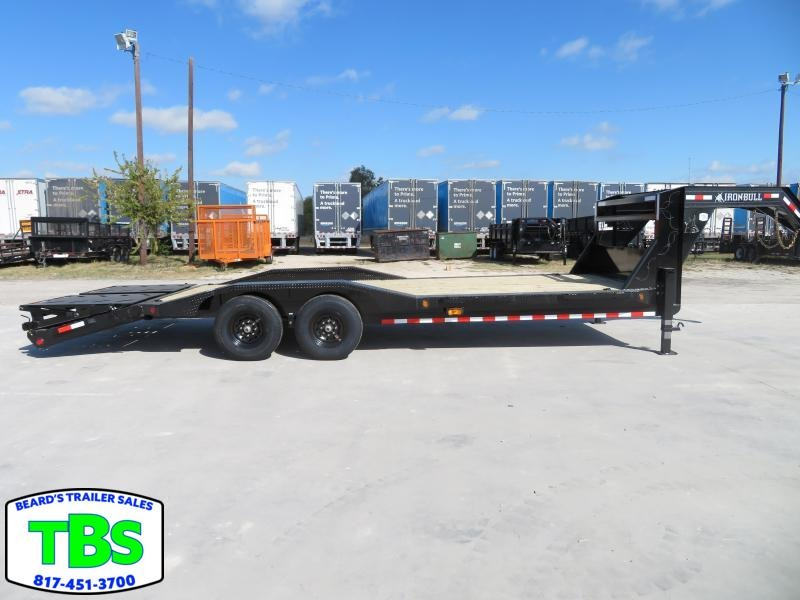 2021 Iron Bull 102X24 Gooseneck Equipment Trailer