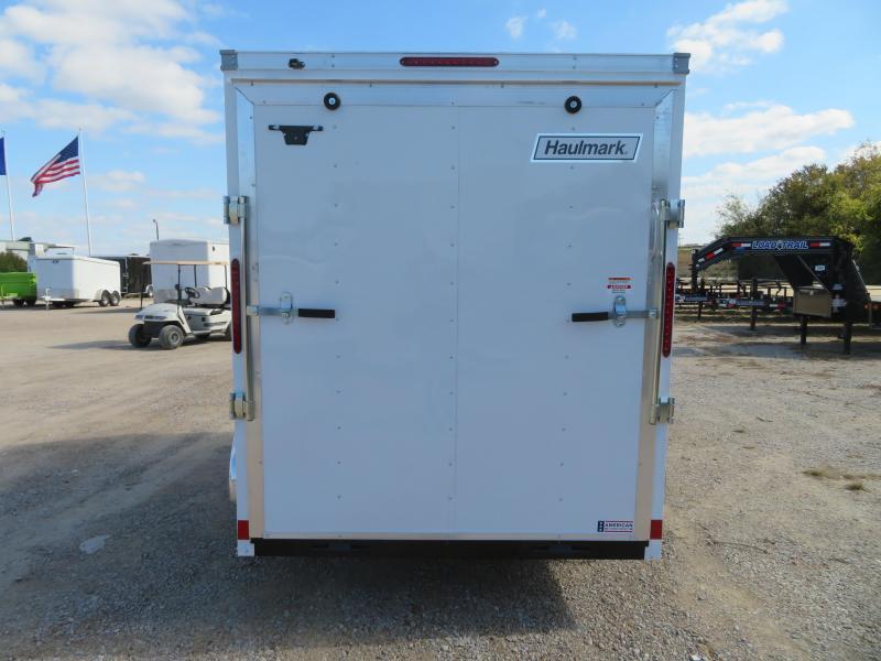 2021 Haulmark 6x10 Enclosed Cargo Trailer