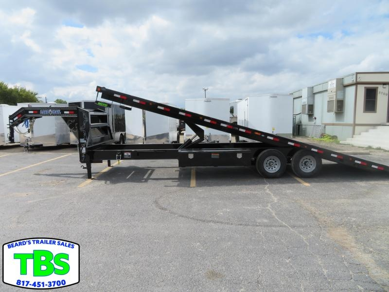 2021 Load Trail 102X28 Gooseneck Flatbed Tilt Trailer