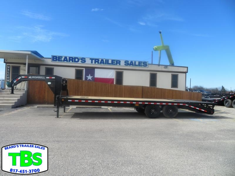 2021 Iron Bull 102X25 Equipment Trailer
