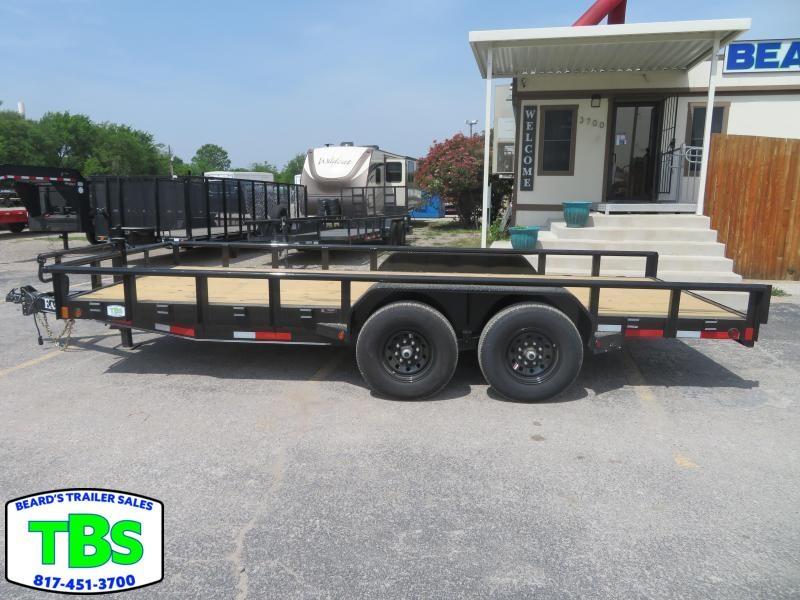 2021 East Texas 83x18 Equipment Trailer