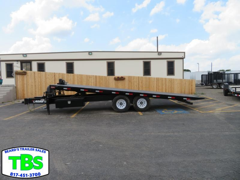 2019 Lamar Trailers 102X22 Equipment Trailer