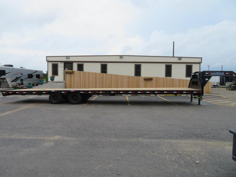 2019 Load Trail 102x40 Gooseneck Flatbed Trailer