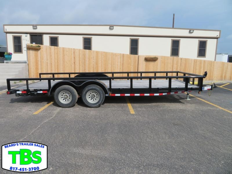 2018 Load Trail 83X20 Equipment Trailer