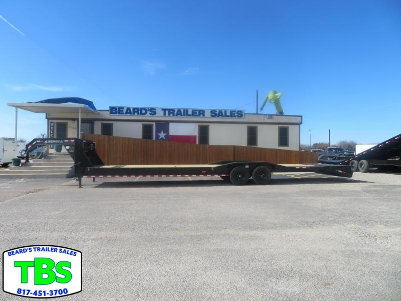 2021 Iron Bull 102X32 Gooseneck Equipment Trailer