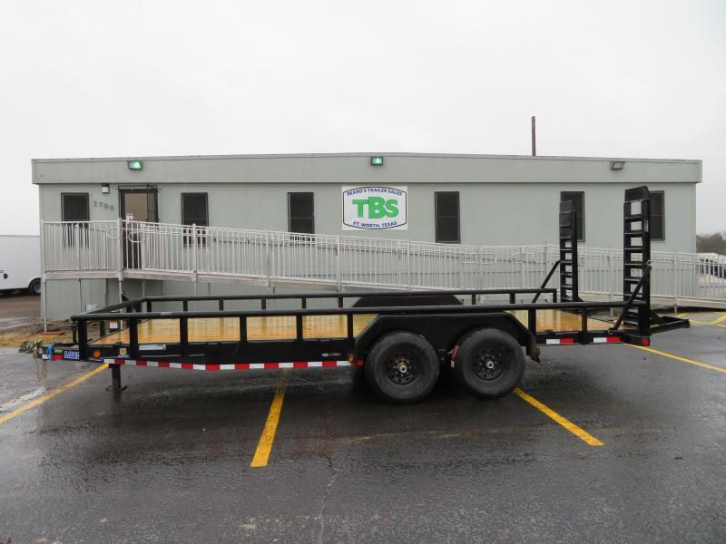 2021 Load Trail 83X16 Equipment Trailer