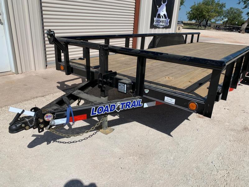 2021 Load Trail CS83x20 Equipment Trailer