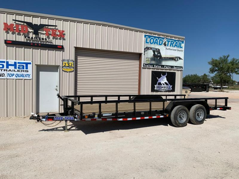2021 Load Trail CS83x20 Equipment Trailer