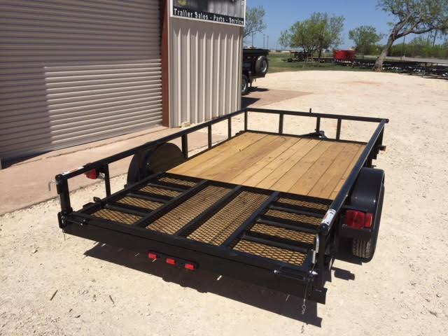 2021 Top Hat Trailers DSP77x12 Utility Trailer