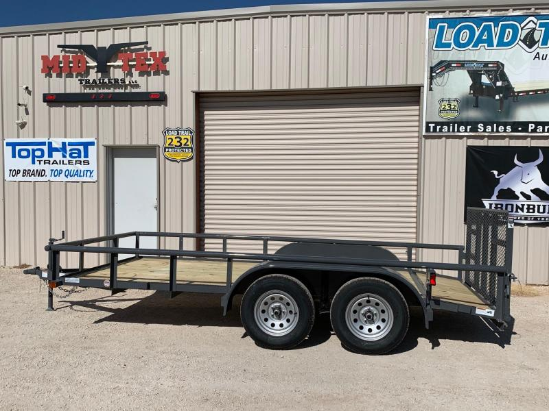 2021 Top Hat Trailers EP77x14 Utility Trailer