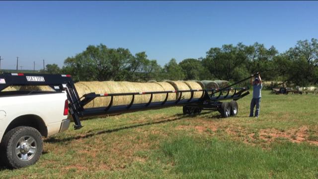 2020 May Trailers Heavy Duty 42ft Hay Livestock Trailer