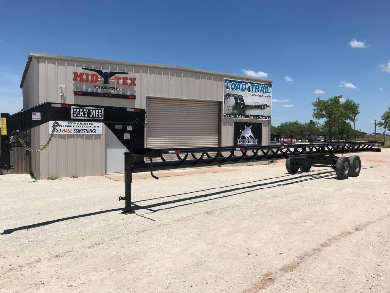 2020 May Trailers Heavy Duty 42ft Hay Livestock Trailer