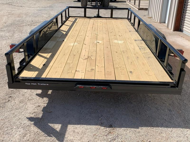 2021 Top Hat Trailers MP83x18 Utility Trailer