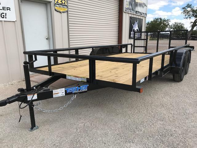 2022 Top Hat MP 83''x16' Utility Trailer