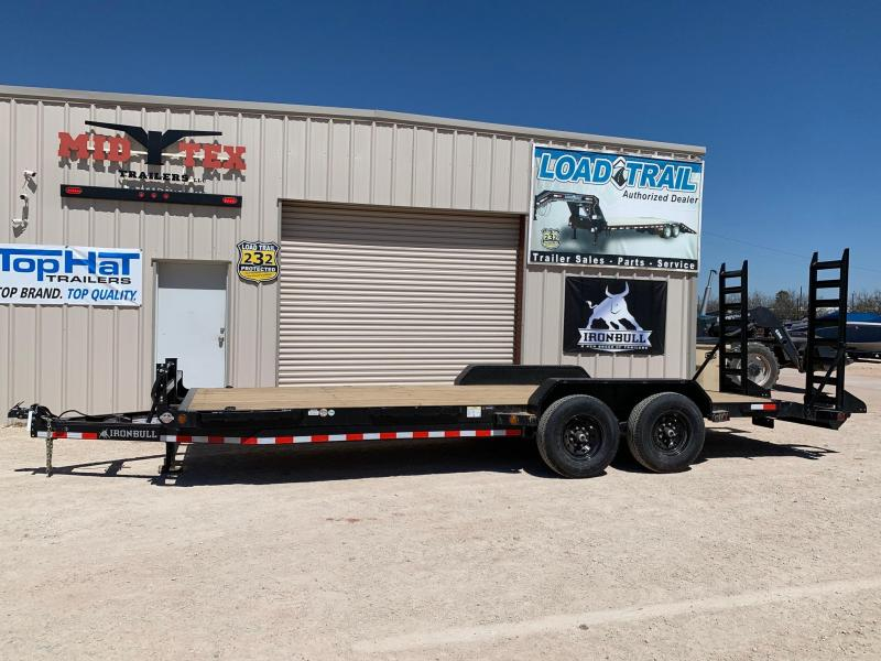 2021 Iron Bull ETB 83x20 Equipment Trailer