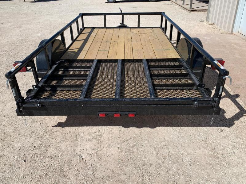 """2022 Top Hat Trailers 77"""" x 12' Utility Trailer"""