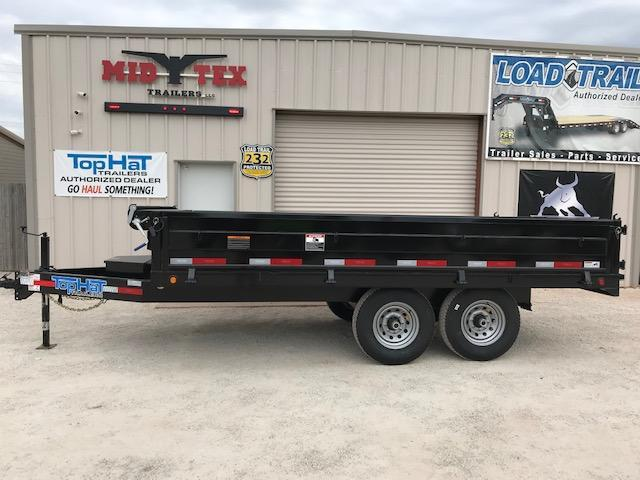 2019 Top Hat Trailers DSDP 96X14 Dump Trailer