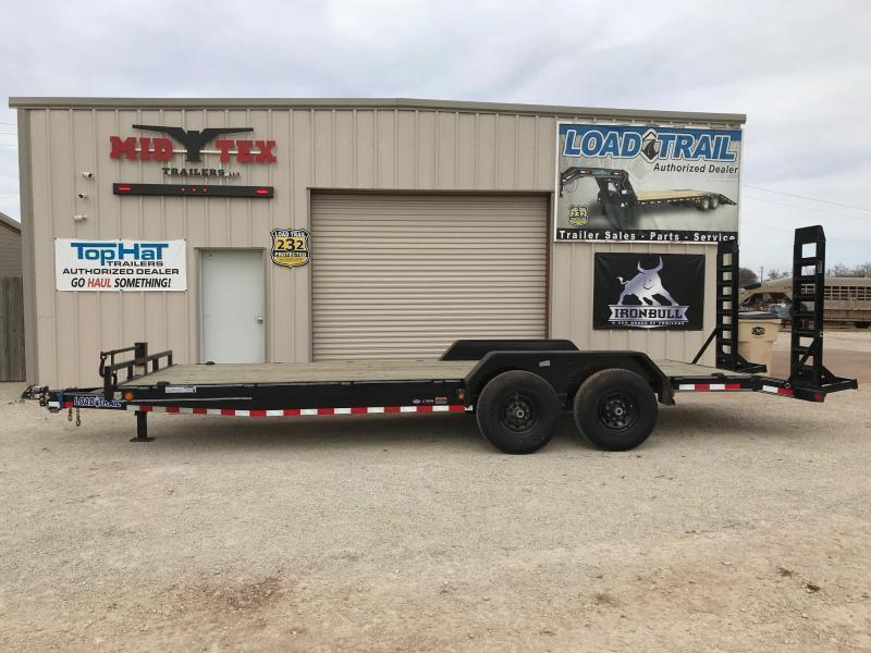 2021 Load Trail XH 83x22 Equipment Trailer