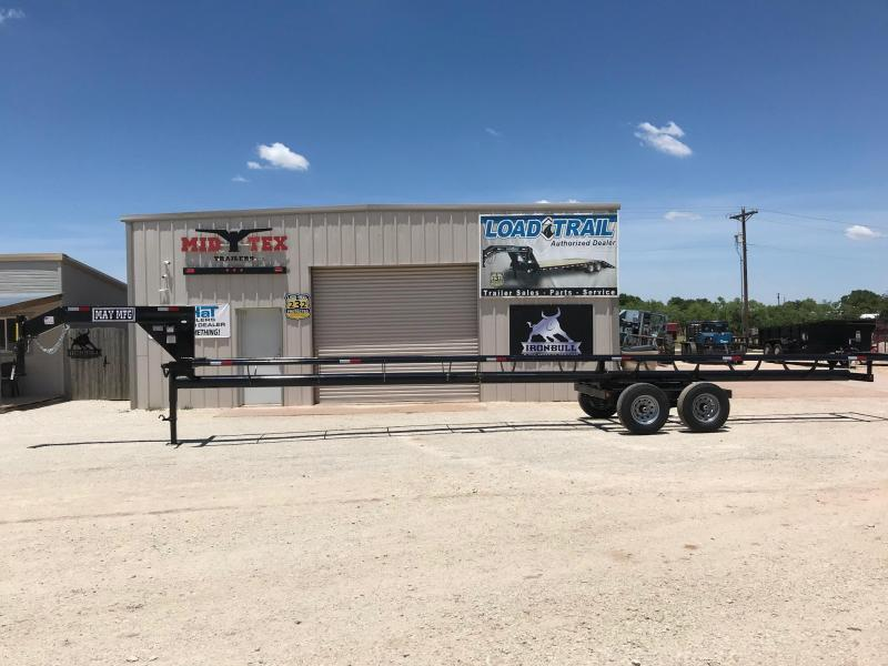 2020 May Trailers Hay 42ft Livestock Trailer
