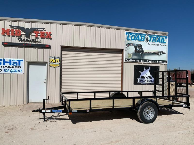 """2022 Top Hat DSP 77""""X14' Utility Trailer"""