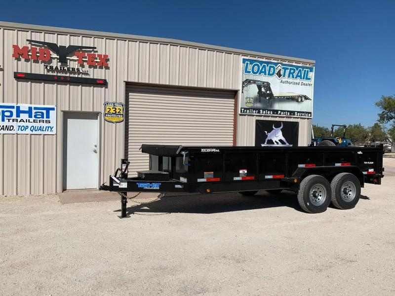 2021 Top Hat Trailers DPX83x16 Dump Trailer