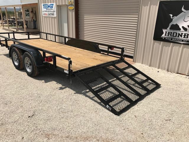 2021 Top Hat Trailers LDT77x16 Utility Trailer
