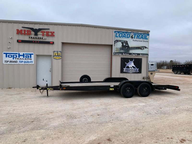 2019 Big Tex Trailers UT 83x20 Car / Racing Trailer