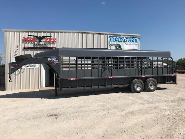 2020 Big Bend 6.8x24 Livestock Trailer