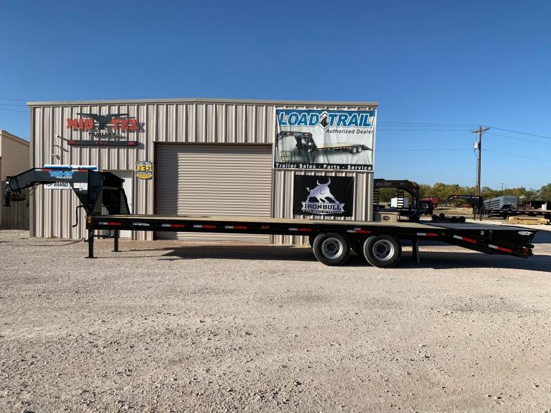2021 Top Hat Trailers GN102x30 Equipment Trailer