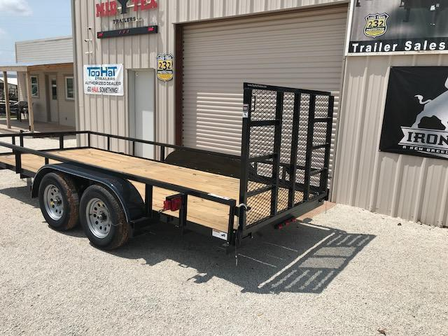 2021 Top Hat Trailers LDX 77x16 Utility Trailer