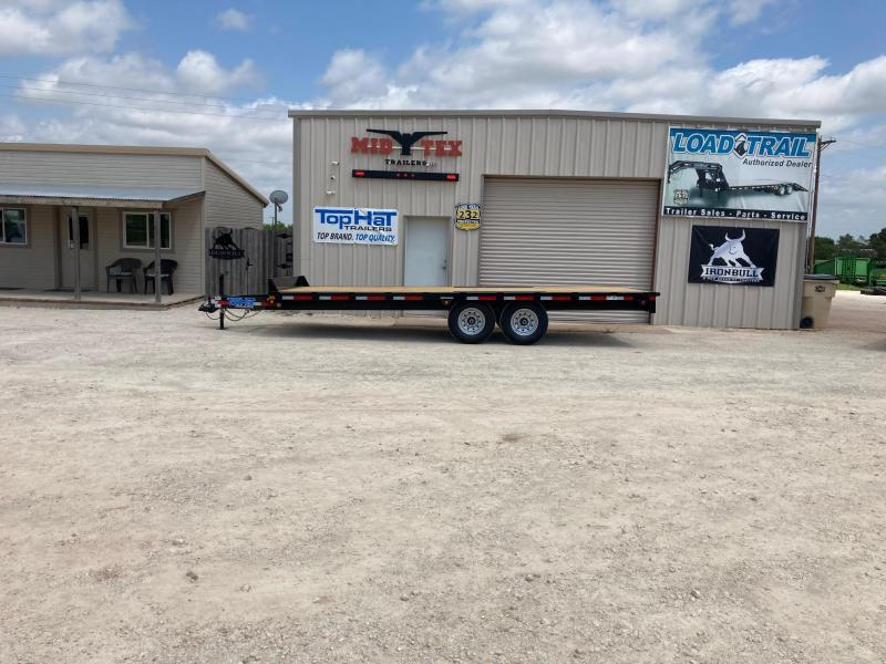 2021 Top Hat Trailers 102 X 20 DO Equipment Trailer