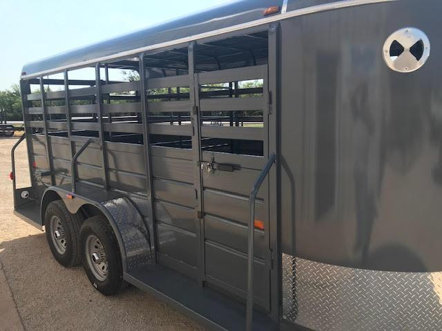 2021 W-W Trailer AA6x16 Livestock Trailer