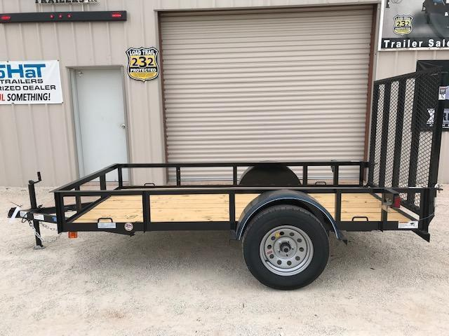2021 Top Hat Trailers X5x10 Utility Trailer