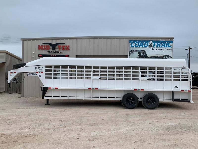 2021 Big Bend GS6.5x24 Livestock Trailer
