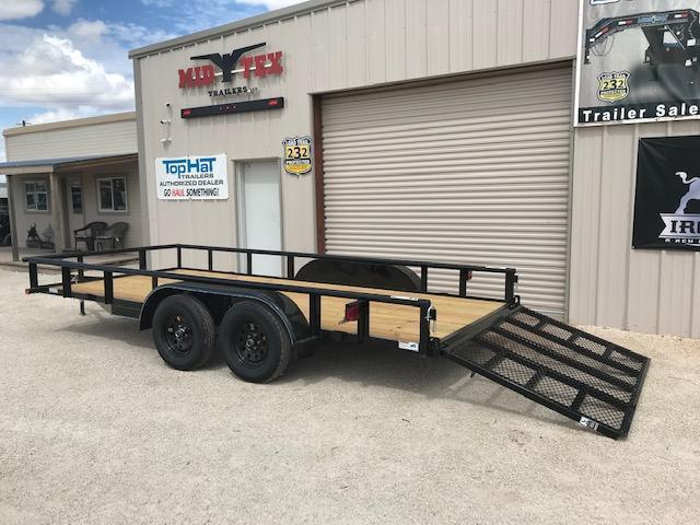 """2022 Top Hat MP 83""""X16' Utility Trailer"""