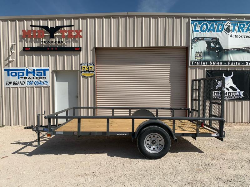 2022 Top Hat Trailers DSP12x77 Utility Trailer