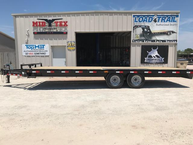 2019 Iron Bull HFB 102X24 Equipment Trailer