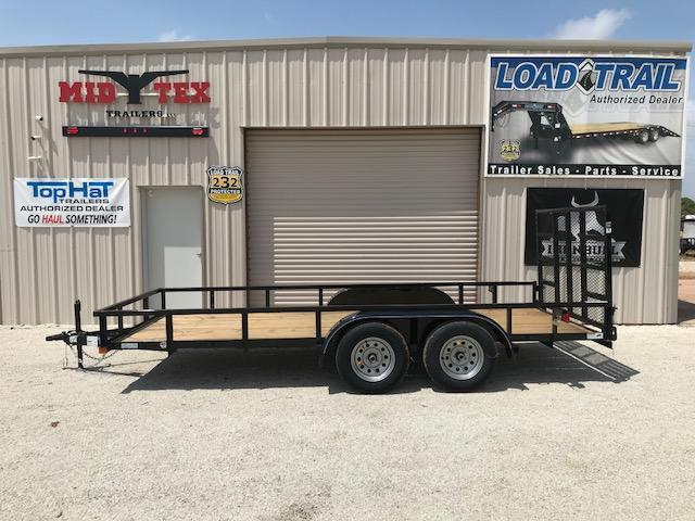 2021 Top Hat Trailers LDX77x16 Utility Trailer
