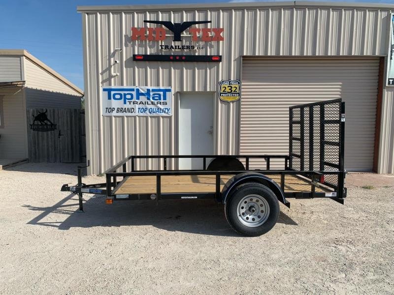 2022 Top Hat Trailers X10x72 Utility Trailer