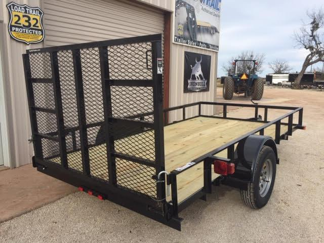 2021 Top Hat Trailers 77 x 12 Utility Trailer