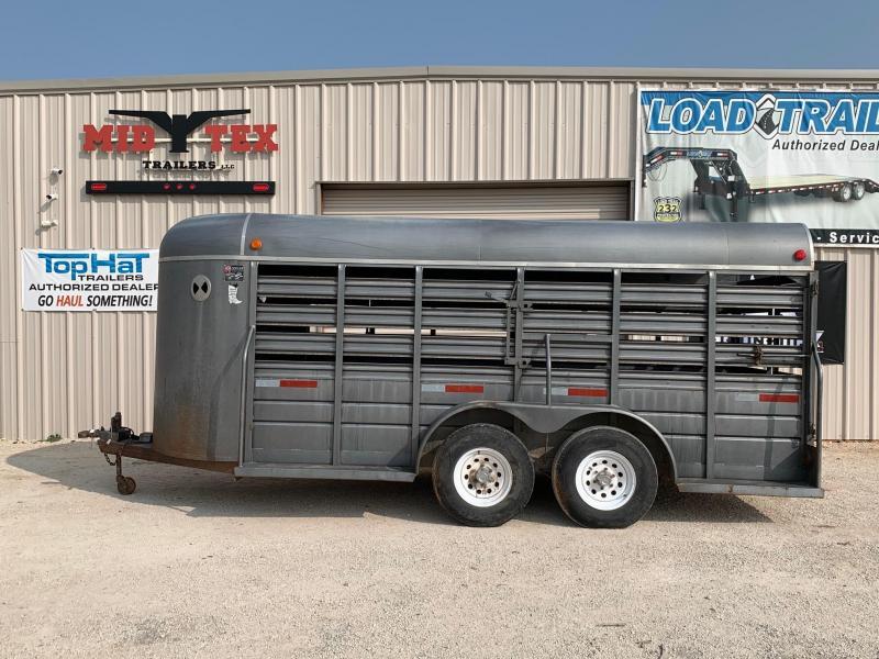 1995 W-W Trailer LS 6x16 Livestock Trailer