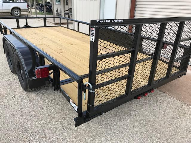 2021 Top Hat MP83X16 Utility Trailer