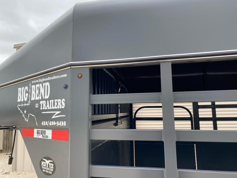 2021 Big Bend 24FT Gooseneck Livestock Trailer