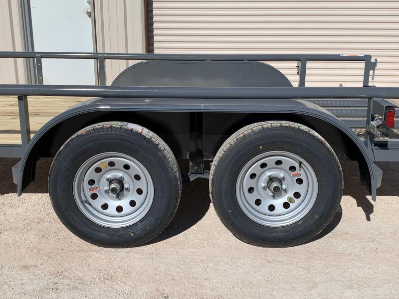 2021 Top Hat Trailers EP77x12 Utility Trailer