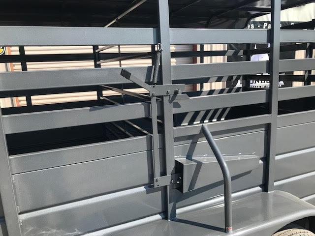 rental 2021 W-W Trailer AA6x16 Livestock Trailer