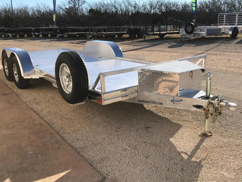 2020 Sundowner Trailers 83x18 Car / Racing Trailer
