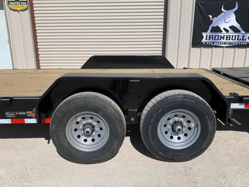 2021 Load Trail CH83x22 Equipment Trailer