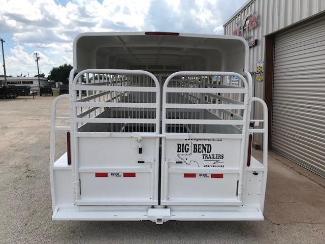 2020 Big Bend 6.8x24 Livestock Trailer