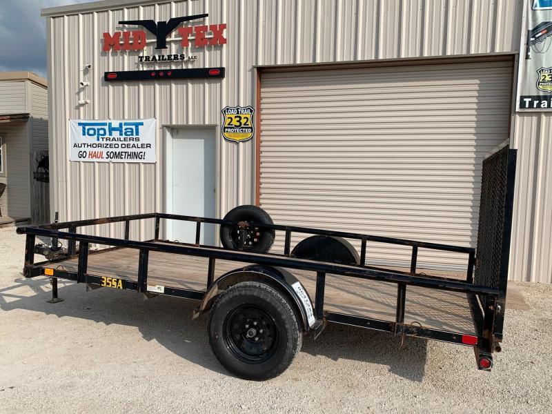 2013 Big Tex Trailers 77x12 Rental Utility Trailer